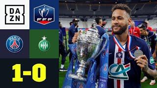 Neymar ballert PSG in Brutalo-Finale zum Titel: PSG - St. Etienne 1:0 | Coupe de France | DAZN