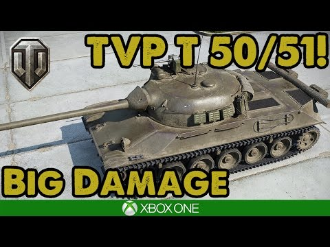 HUGE CZECH GAME! TVP T 50/51 On Westfield - WoT Console