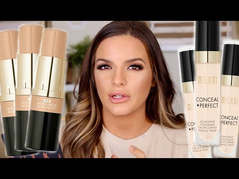 I TRIED OUT A NEW $10 DRUGSTORE FOUNDATION AND CONCEALER... WEAR TEST REVIEW  | Casey Holmes