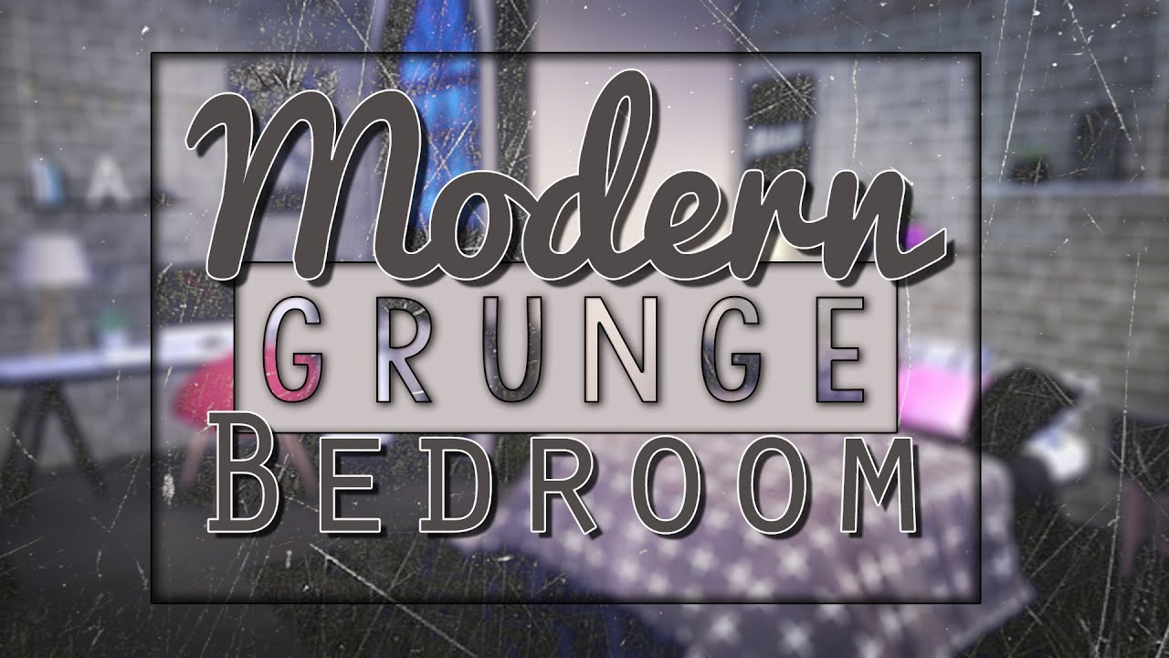 The Sims 4 || Speed Furnish: Modern Grunge Bedroom