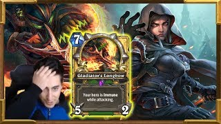 Hearthstone: I Beat Hunter With His Deck! This Was Sick!