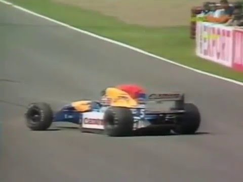 Mansell i svar krasch