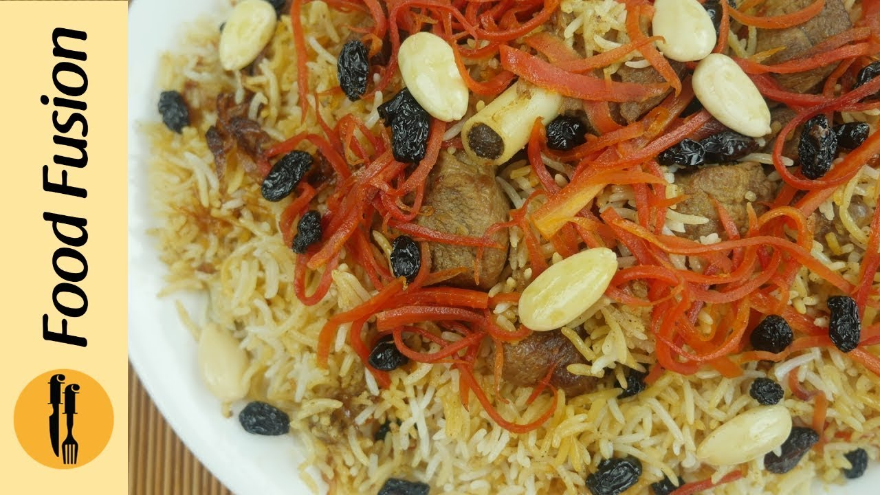 Kabuli pulao afghani pulao recipe by food fusion youtube forumfinder Images