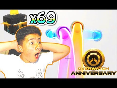 OPENING 69 OW ANNIVERSARY LOOT BOXES!   Overwatch