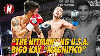 "USA ""The Hitman"" vs PH ""Magnifico"" (Mark Magsayo vs Chris Avalos) Full Fight LQ"