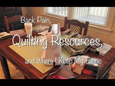 My Favorite Quilting YouTubers & A Tour of My Fabric Room