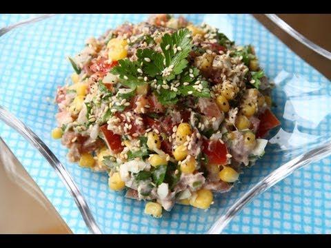 Тарталетки с тунцом консервированным - пошаговый рецепт с