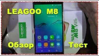 "Leagoo M8 5.7 ""HD IPS Android 6.0 Большой и бюджетный"