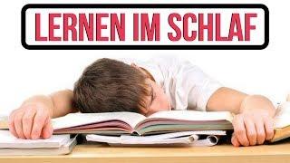 Lernen im Schlaf - ICH ZEIGE DIR WIE!