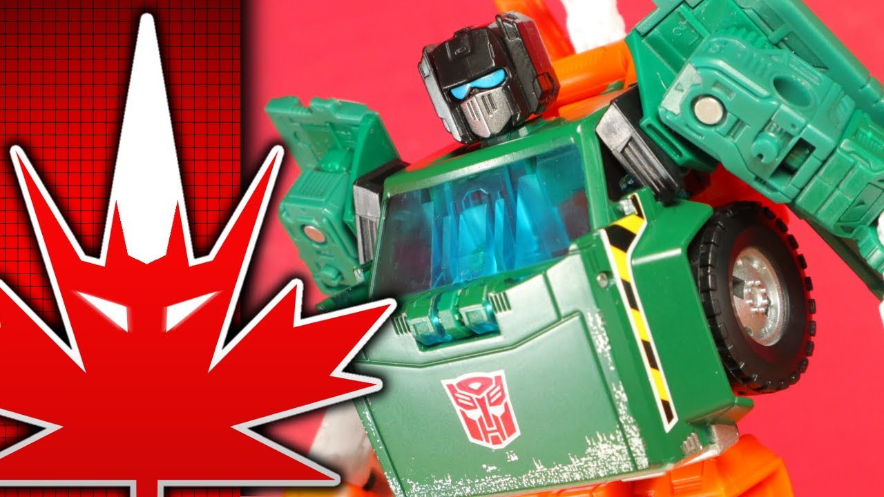 Transformers Generations Earthrise Hoist Review By TFanPage101
