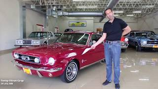 '65 Mustang GT for sale with test drive, driving sounds, and walk through video