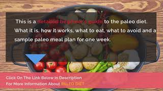Paleo Diet Food List Printable Pdf - A Guide To Paleo Diet At Any Age