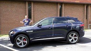 Jaguar F-Pace - средний среди всех прочих люксовых внедорожников