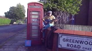 OMD - Red Frame White Light - Acoustic Cover at the Telelphone Box!! - Danny McEvoy