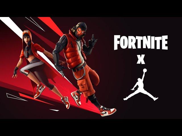 The New FREE Jordan X Fortnite Event Rewards..