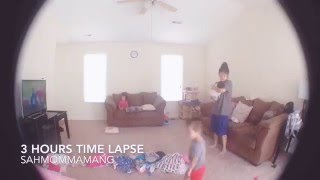 TIME LAPSE TESTING | SAHMOMMAMANG