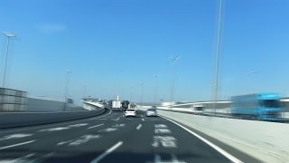 [drive Japan]hanshin Expressway(wangan Route Osaka-kobe 阪神高速) Part.2