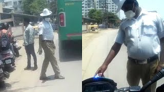 Traffic Police Stopped Me for NO Reason!!
