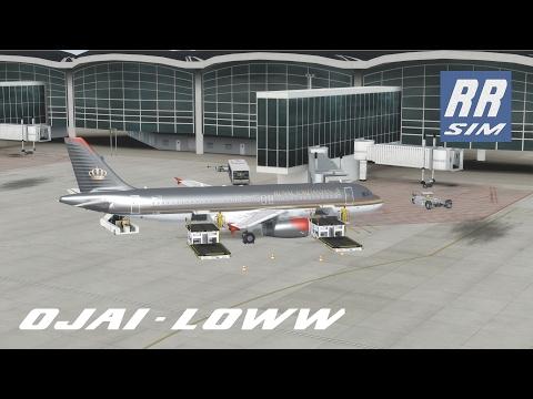 P3d|FSlabs A320 IAE|Amman - Vienna|Royal Jordanian