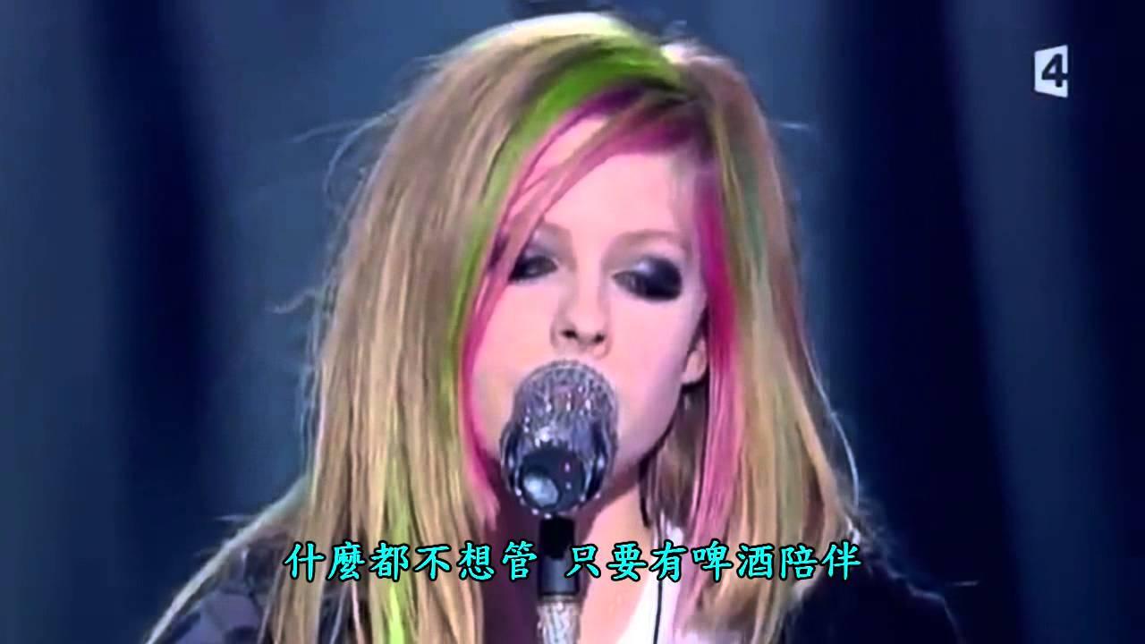 艾薇兒 (Avril Lavigne) Tik Tok - Live演唱版 (中文字幕) - YouTube