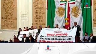 Otro enfrentamiento entre diputados de Morena y del PRD en la Asamblea Legislativa