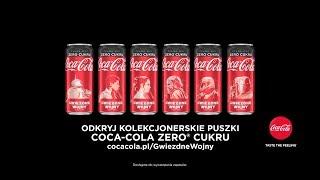 Coca Cola - Pełna moc, zero cukru!