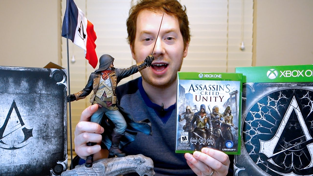 Assassin's Creed Unity Collector's Edition Unboxing and ...