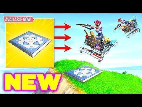 NEW BOUNCER PAD....TOO OP?! Fortnite Funny Fails and WTF Moments! #28