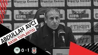 İ. H. Konyaspor Galibiyeti Sonrası Teknik Direktörümüz Abdullah Avcı'nın Basın Toplantısı