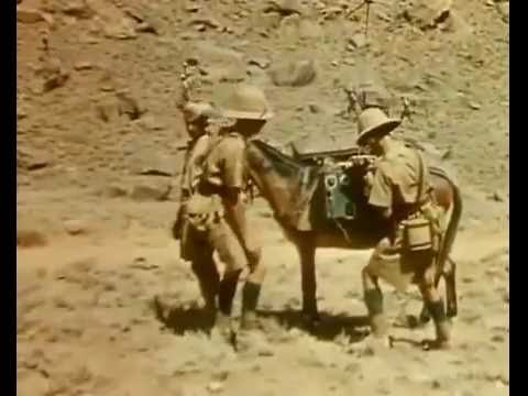 British Raj troops are ambushed in the mountains of the Northwest Frontier