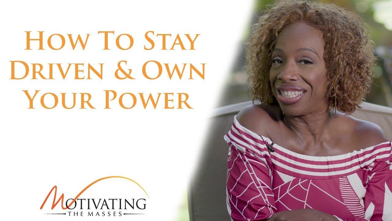 Lisa Nichols - How To Stay Driven & Own Your Power