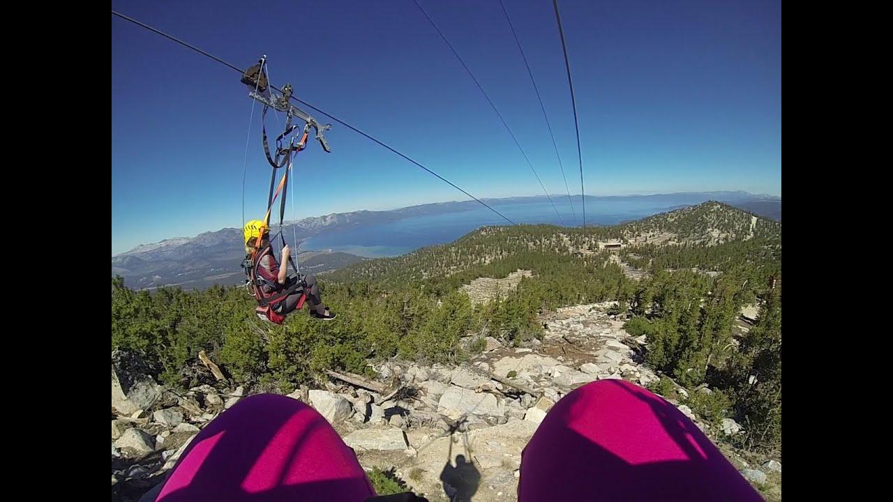 Lake tahoe zip line