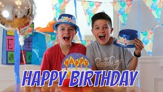 14 year old twins BIRTHDAY SPECIAL 🎉| Brock and Boston