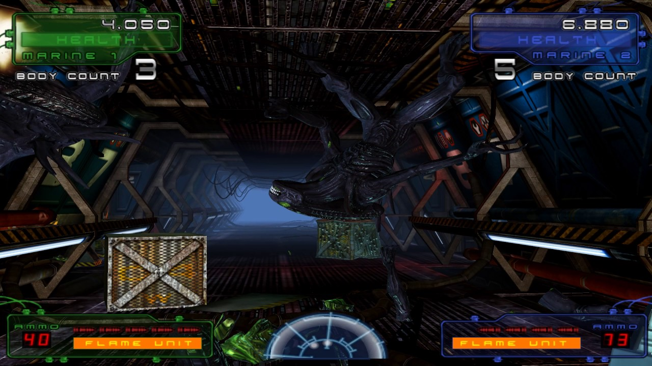 Aliens : Extermination (PC Emulation) - Dual lightgun with Aimtrak and  DemulShooter