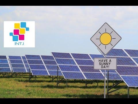 Cryptocurrency mining solar panel
