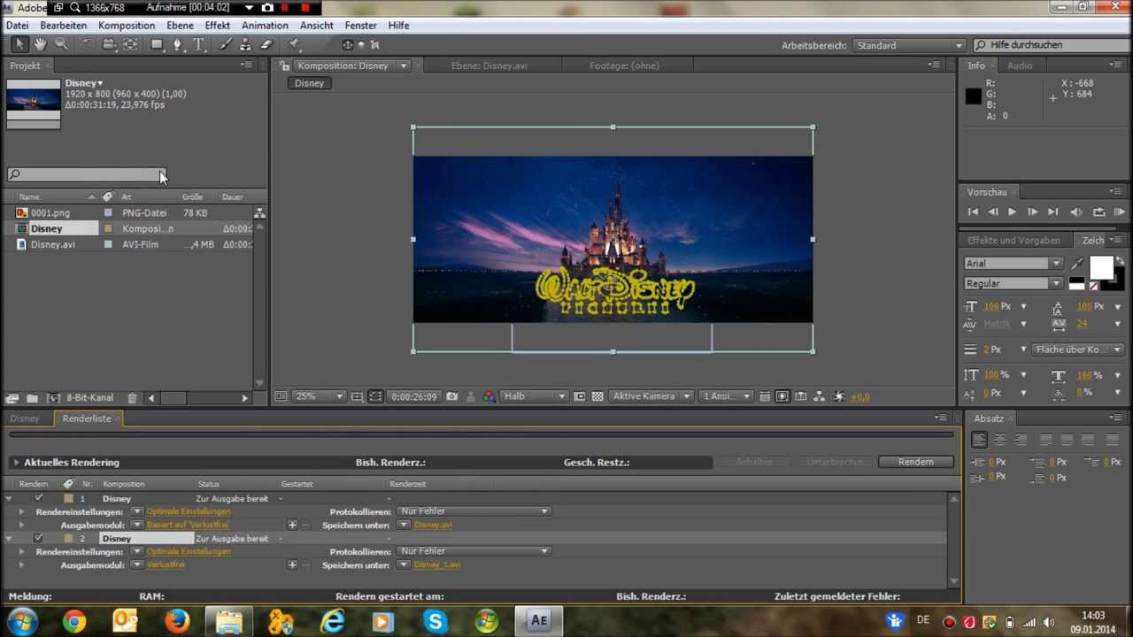 tutorial disney intro selbermachen deutsch hd youtube