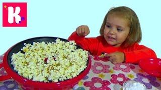 Готовим попкорн на аппарате popcorn maker