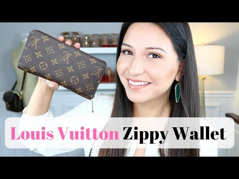 LOUIS VUITTON ZIPPY WALLET - Review, Wear and Tear and WIMB | LuxMommy