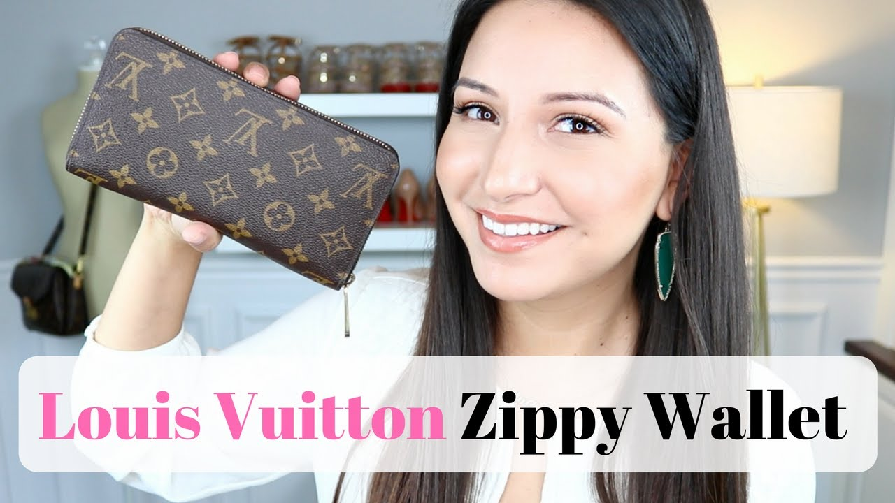 LOUIS VUITTON ZIPPY WALLET - Review, Wear and Tear and ...  Louis