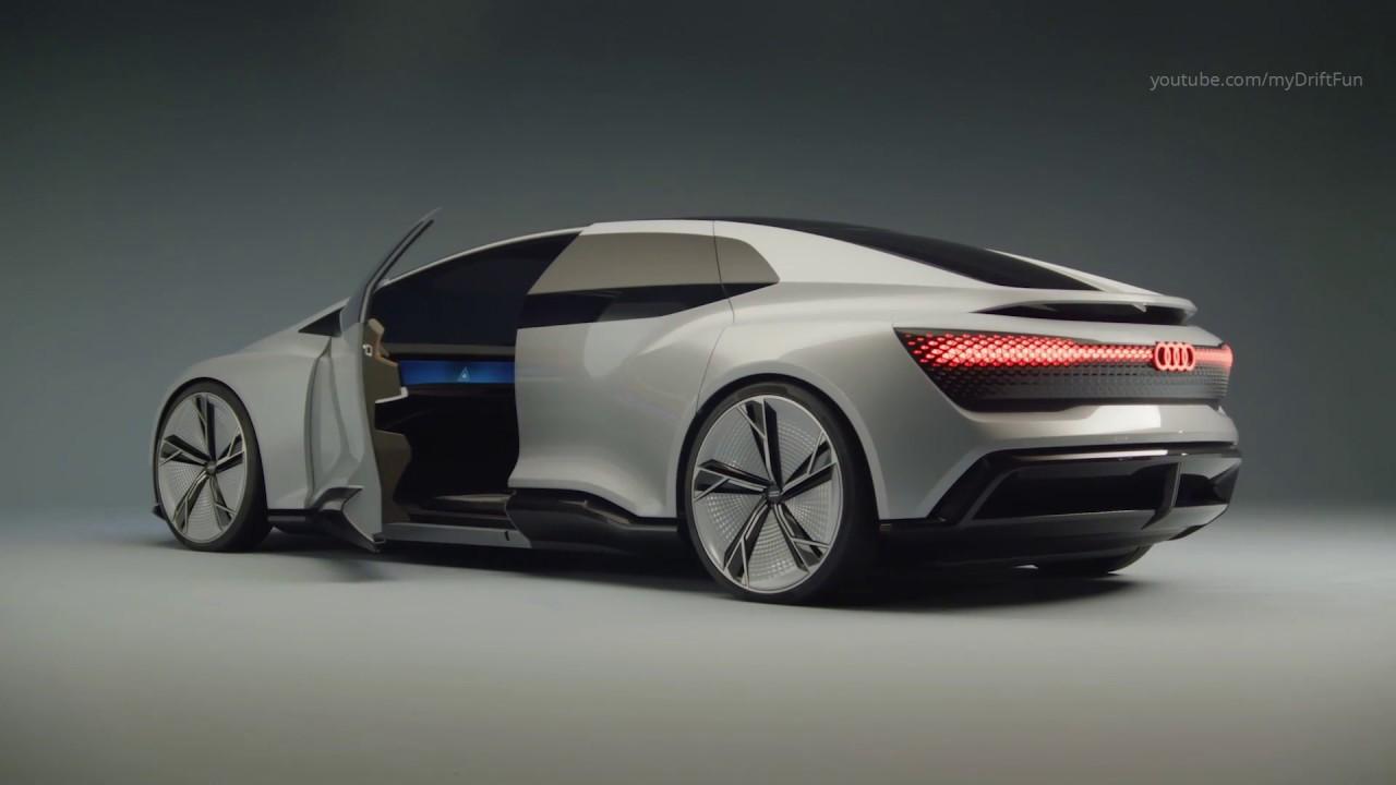 Audi Aicon - the Audi Vision of Autonomous Driving - YouTube