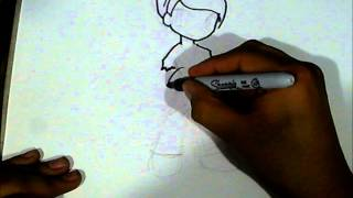 How to draw PETER PAN 4kids?