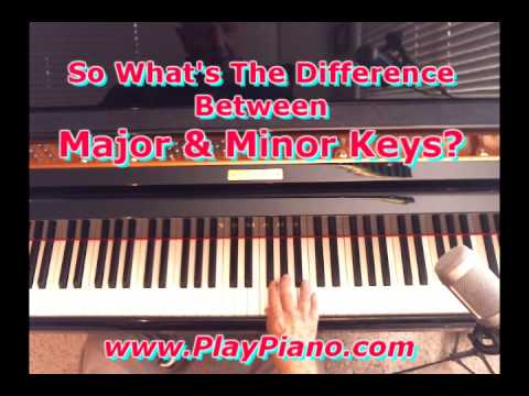 What's The Difference Between Major & Minor Keys?