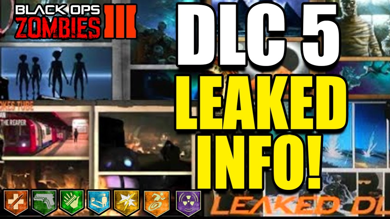 DLC ZOMBIES CHRONICLES LEAKED MAP PACK BO ZOMBIES DLC - All of us remastered bo3 zombies maps
