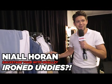 Niall has ironed underpants?! (Backstage Tour Pt. 3)