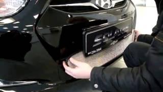 ТюнингМаркет.рф Установка решетки радиатора для Hyundai Solaris 2011 Хром смотреть