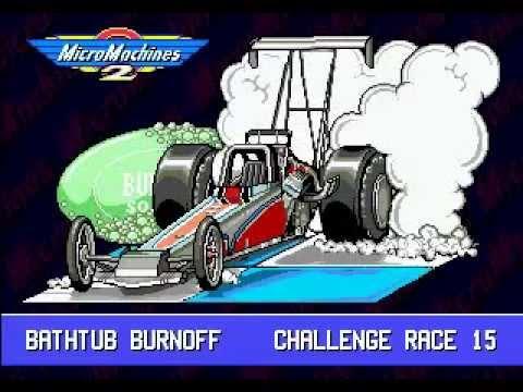 Micro Machines 2: Turbo Tournament (Genesis) - Longplay