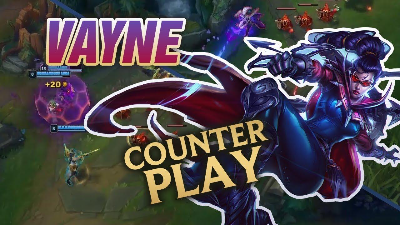 unikalny design sprzedawca detaliczny nowy haj How to Counter Vayne: Mobalytics Counterplay