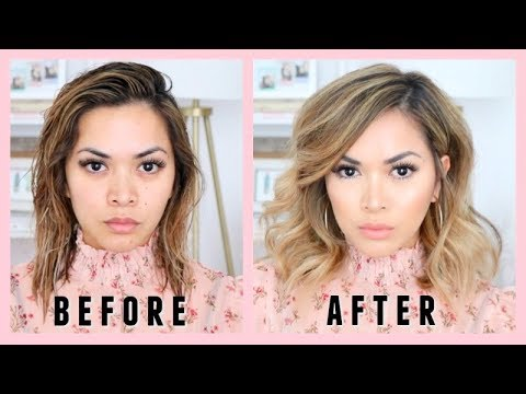 HOW TO STYLE SHORT LOB HAIRSTYLE