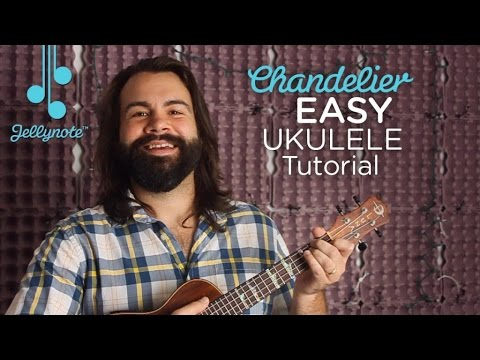 Chandelier By Sia Easy Ukulele Chords Tutorial For Beginners