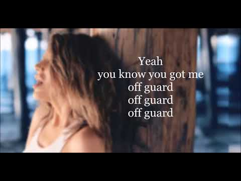 Elvana Gjata - Off Guard | Lyrics Video | ft  Ty Dolla $ign